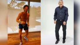 Sebastián Rulli recurre a Fabio 'Lobo Vásquez' para mostrar sus mejores pasos de baile