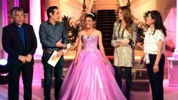 Mitzy regala vestido de XV años 30 septiembre 2015