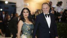 Esposo de Salma Hayek donará 100 mde a Notre Dame