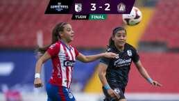 Querétaro Femenil venció 3-2 al Altético San Luis Femenil