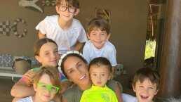 Los hijos de Inés Gómez Mont prefieren bailar que irse a dormir: '¿Cómo los apago?'