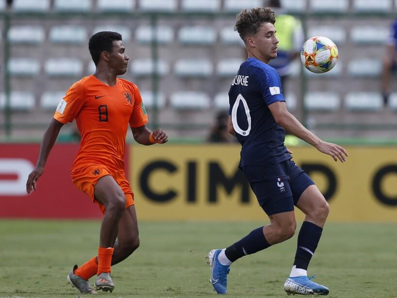 Brazil U-17 WCUP Soccer France Netherlands