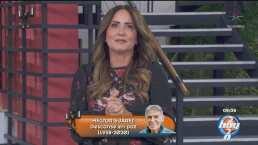 """Andrea Legarreta rompe en llanto al anunciar la muerte de Héctor Suárez: """"Me duele mucho"""""""