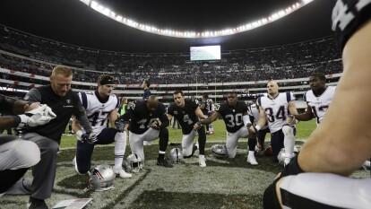 Patriots vs Raiders, el antecedente más reciente | El Estadio Azteca fue el escenario del último encontronazo entre ambos equipos.
