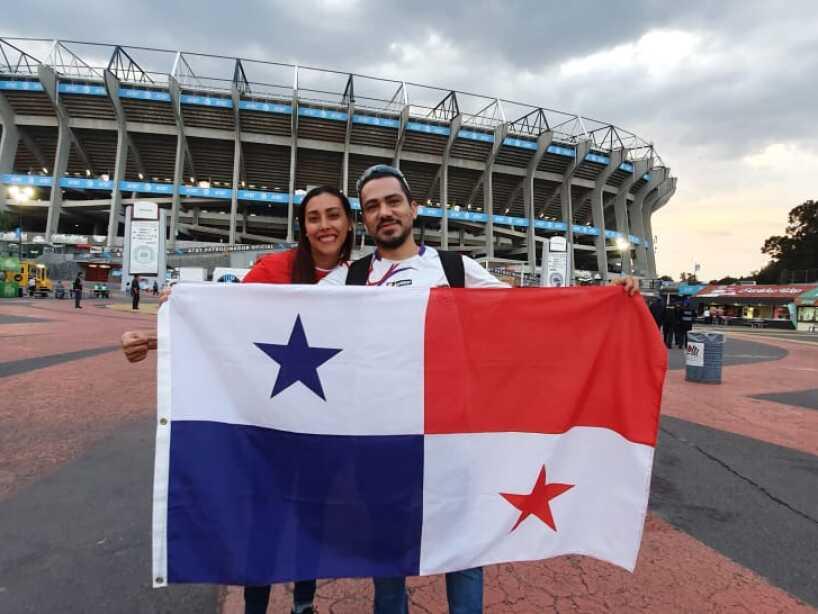 El color de la previa México vs Panamá.