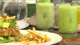 Cocina: Hamburguesas de pavo con queso crema y jalapeño