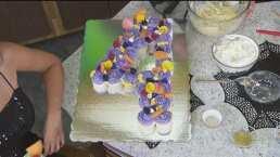 RECETA en un minuto: Cupcake de naranja