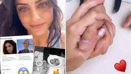 Aislinn Derbez revela quién es el galán con el que aparece tomada de la mano