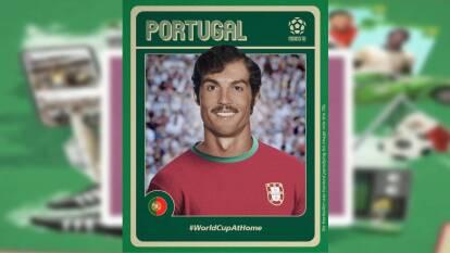 El peinadito de lado iría caído con Cristiano Ronaldo y el bigote sería la cereza del pastel.