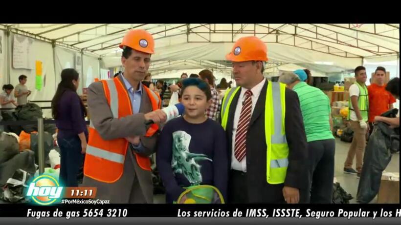 Sammy y Miguel Luis continúan apoyando #FuerzaMéxico