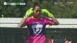 ¡Atajadón! Melany Villeda salva el arco de Pumas en un contragolpe