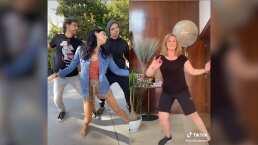 ¡Combo ganador!: Los Derbez y Erika Buenfil bailan juntos en un TikTok