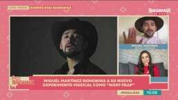 Miguel Martínez prepara nuevo experimento musical, al que denomina 'Nort-trap'