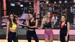 'Rutina de Hoy': Andrea, Marisol y Yanet evitaron las respuestas incómodas de la coach Aureli