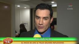 David Zepeda inicia año protagonizando Por amar sin ley