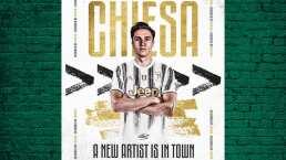 Chiesa llega por dos años a préstamo a la Juventus