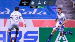 ¡Partido perfecto! Puebla golea 4-0 a FC Juárez con triplete de Ormeño