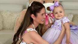 La hija de Marlene Favela ya dice papá y la actriz lo presume orgullosa