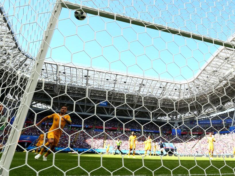 El gol de Paul Pogba se decretó gracias al uso del Ojo de Halcón. El balón apenas entró a la portería