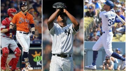 Astros, Yankees y Dodgers, bien y de buenas.
