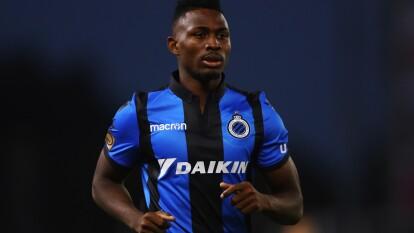Emmanuel Bonaventure Dennis, nacido en Nigeria, es el goleador del Brugge, pese a sus 21 años.