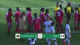 México golea a Saint Kitts & Nevis en el Preolímpico
