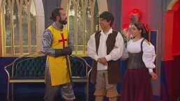Violeta Isfel y Carlos Eduardo Rico hacen prueba divertida y peligrosa en 'Inseparables medieval'