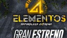 Lista segunda temporada de 'Reto 4 elementos'
