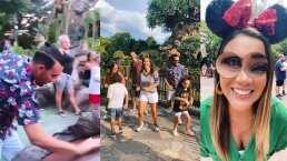 Mariazel y Ricardo Margaleff se divierten como si fueran niños en Disney