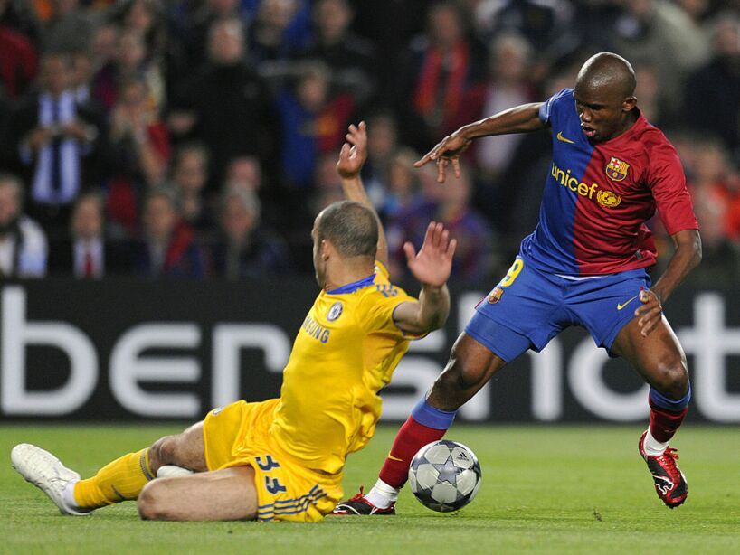 Barcelona�s Cameroonian forward Samuel E