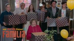 ¡La familia Córcega recibe una sorpresa!
