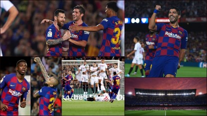 El Barcelona trae buena racha ganadora con tres partidos ganados al hilo, pero aún no logra encontrar un juego estable.