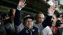 Diego Maradona libra contagio por COVID-19