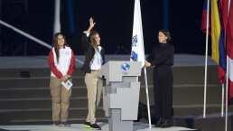 Alexandra Grande da el juramento de los deportistas de Lima 2019