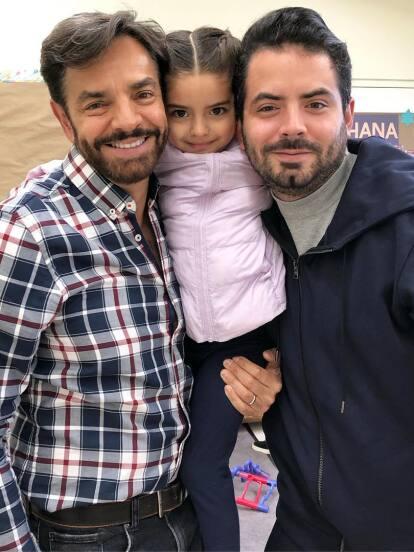 Aislinn, José Eduardo, Vadhir y Aitana son los hijos de Eugenio Derbez y, aunque todos tienen una mamá distinta y hasta personalidades diferentes, hay un rasgo físico que todos heredaron del comediante mexicano.