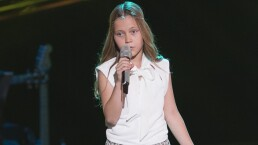 Renata López logró entrar al equipo Rosario en La Voz Kids