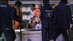 Pumas informó que Johan Vásquez está fuera de peligro