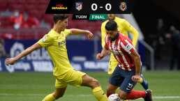 Héctor Herrera jugó 14 minutos ante Villarreal en LaLiga