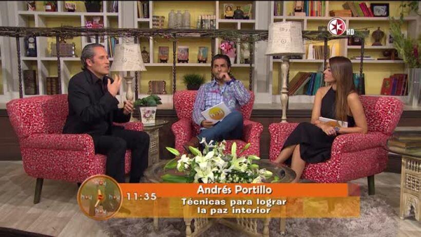 Andrés Portillo: Paz interior en momentos difíciles