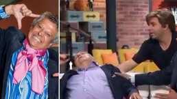 La mejor actuación de Frankie Rivers: le provoca tremendo susto a Reynaldo Rossano