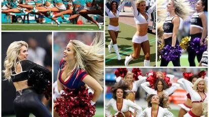 Las cheerleaders motivan a sus equipos con coreografías espectaculares y porras de aliento.