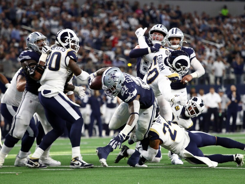 Los Angeles Rams v Dallas Cowboys