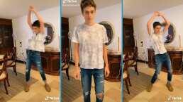 Nicolás, hijo de Erika Buenfil, demuestra que podría ser un ídolo del pop con sus pasos de baile