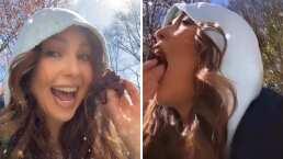 Video: Thalía comparte cómo lleva su 'dieta' en cuarentena