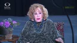 Silvia Pinal reaparece en público