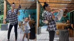 A Lidia Ávila la convencieron de abrir su TikTok y lo hizo al lado de hija
