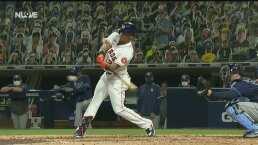 ¡Otro cañonazo! Michael Brantley acerca a los Astros en la pizarra