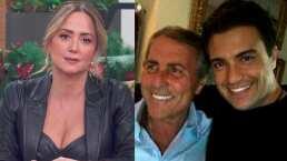 Andrea Legarreta le envía su más sentido pésame a Jaime Camil por la muerte de su padre