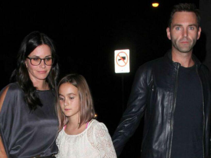 10. Courteney Cox y David Arquette: Le pusieron a su hija Coco Cox Arquette. ¡No bueno!