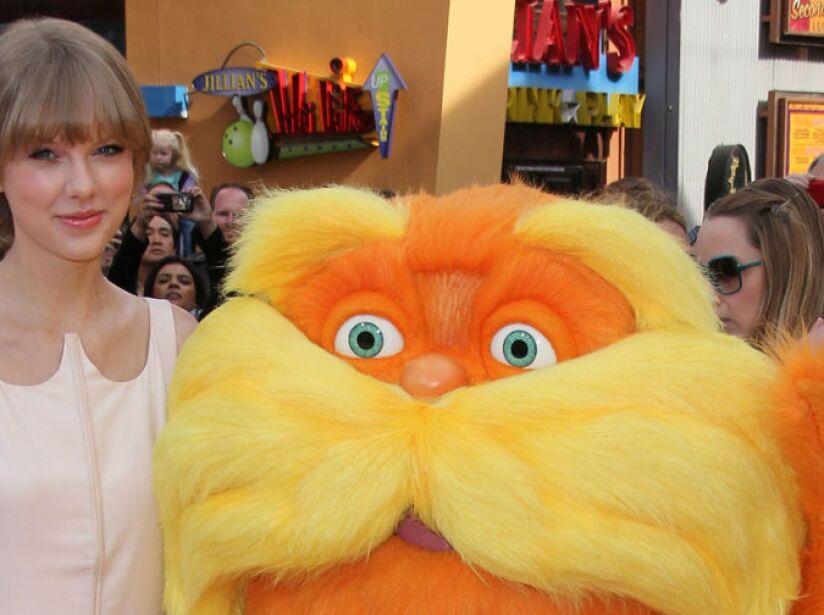13. Taylor Swift: La sensación del pop dio vida a Audrey, la protagonista en The Lorax.